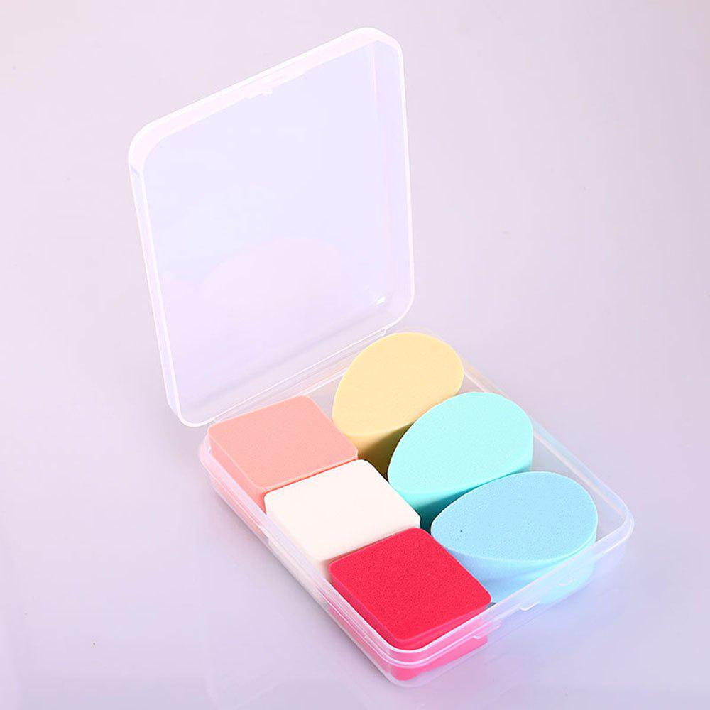 Cheap Boxed Rhombus Water Drop Makeup Sponge Puff