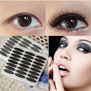 Black Paper Double Eyelid Stickers 72 Pairs 3PCS -