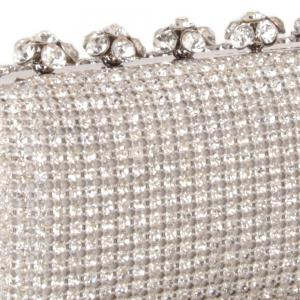 Women Bags Glasses Evening Bag Rhinestone Sparkling Glitter for Wedding Event/Party -