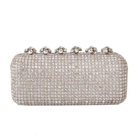 Best Women Bags Glasses Evening Bag Rhinestone Sparkling Glitter for Wedding Event/Party