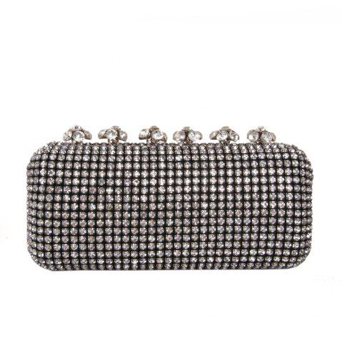 Hot Women Bags Glasses Evening Bag Rhinestone Sparkling Glitter for Wedding Event/Party