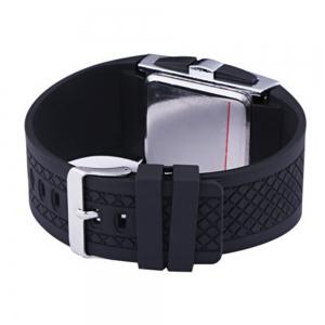 LED Digital  Military Outdoor Rectangle Unisex Electronic Casual Men Watch -