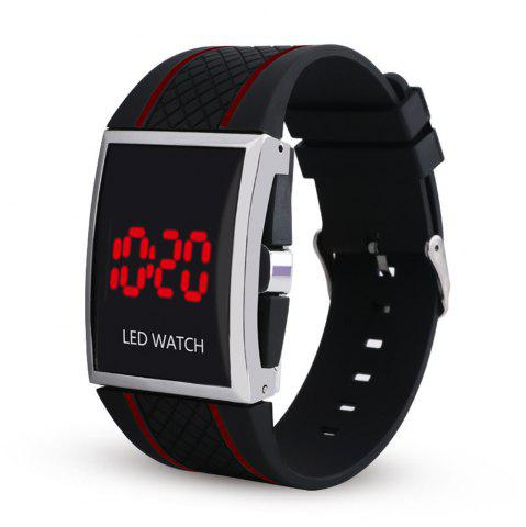 Store LED Digital  Military Outdoor Rectangle Unisex Electronic Casual Men Watch