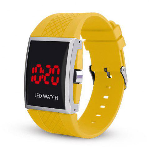 Outfits LED Digital  Military Outdoor Rectangle Unisex Electronic Casual Men Watch