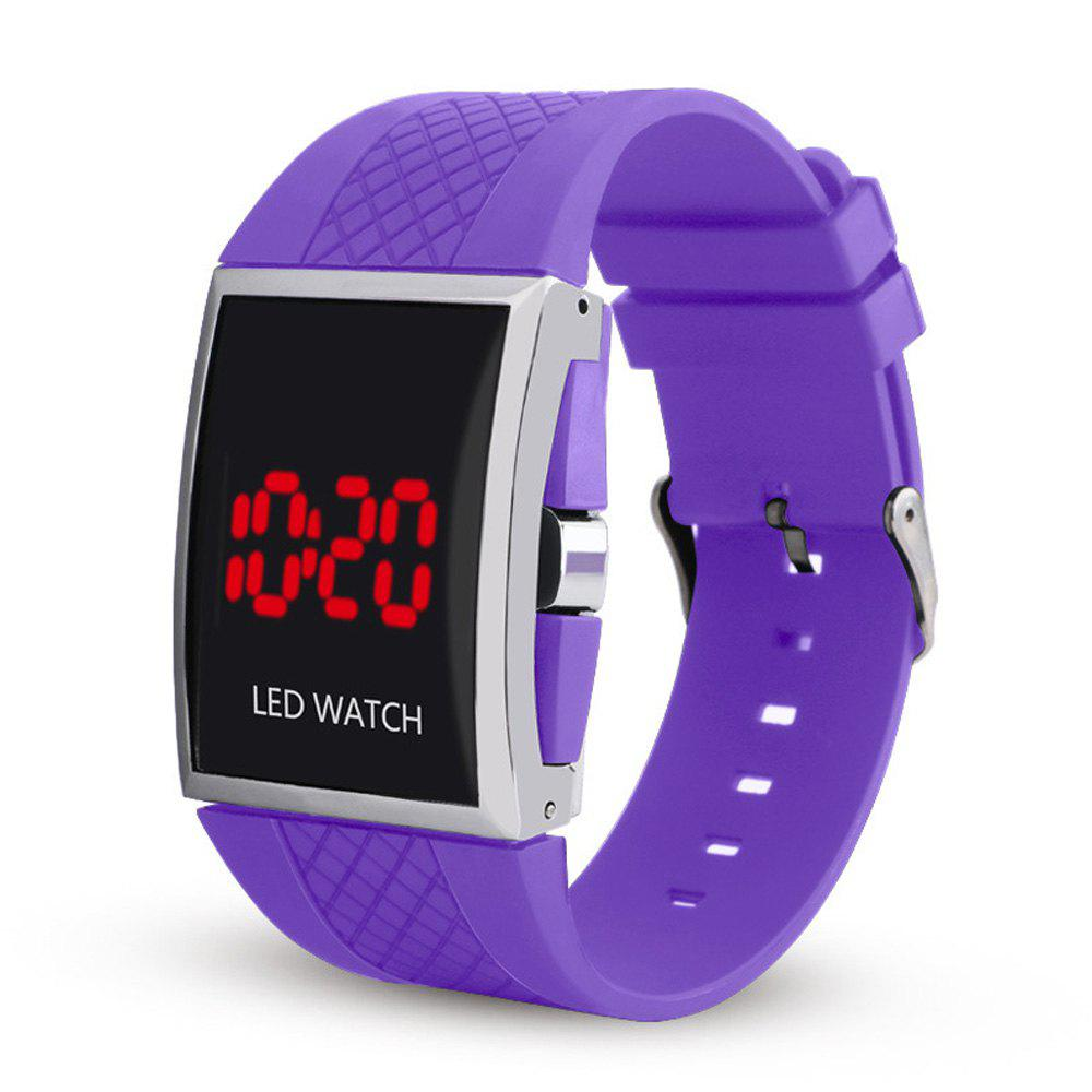 Shop LED Digital  Military Outdoor Rectangle Unisex Electronic Casual Men Watch