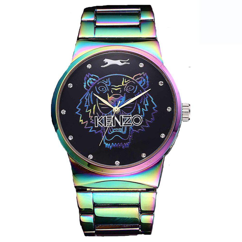 Buy Men Quartz  Colorful Band Personality Stainless Steel Watch