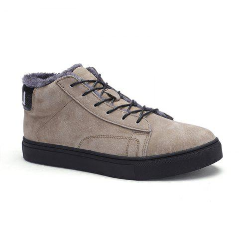 Buy Autumn and Winter Pigskin Rubber Sole Shoes