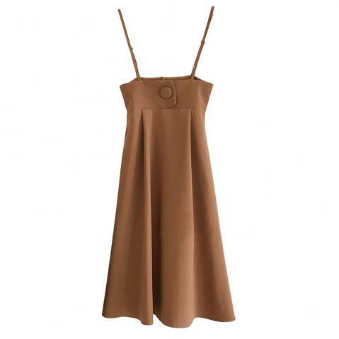 Outfits Condole Belt Suspenders Bust Skirt