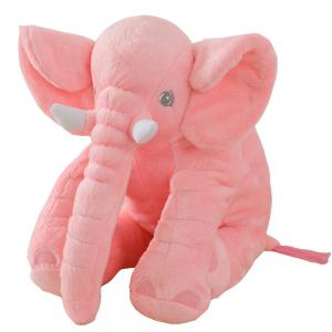 40cm Infant Soft Appease Elephant Playmate Calm Doll Baby Toy -