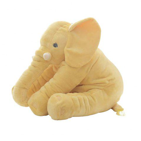 Online 40cm Infant Soft Appease Elephant Playmate Calm Doll Baby Toy