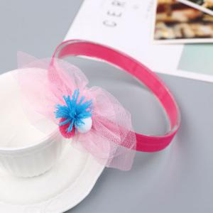 Chiffon Ball Cute Children Hair Band -
