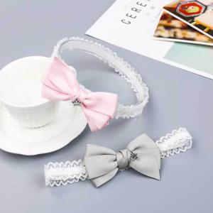 Crown Bow Tie Princess Hair Band -