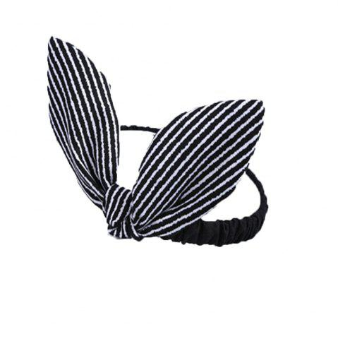 Sale Wavy Striped Bunny Ears for Children Hair Band