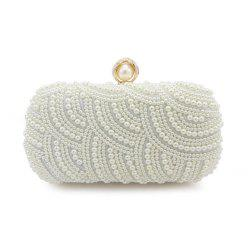 Handbags Clutches With Pearls For Wedding Special Occasion in More Colors -