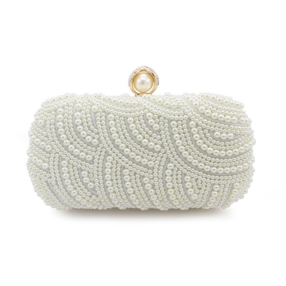 Outfit Handbags Clutches With Pearls For Wedding Special Occasion in More Colors