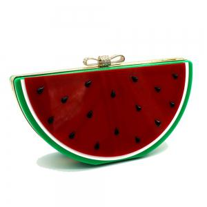 2016 Top Flap Linen Day Clutches Single Chains Unisex Open Pocket Versatile New Cute Fruit Shape Hand Bag -