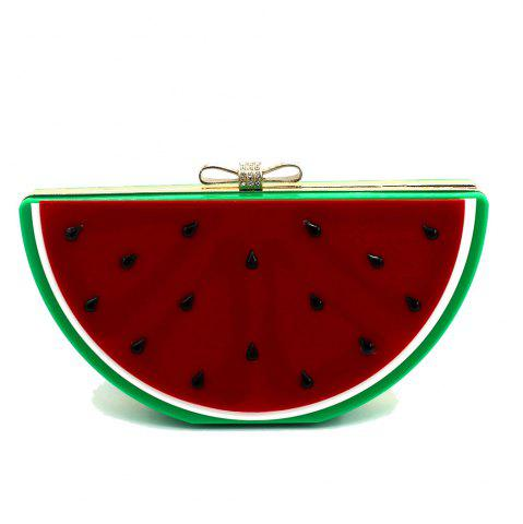 Shops 2016 Top Flap Linen Day Clutches Single Chains Unisex Open Pocket Versatile New Cute Fruit Shape Hand Bag