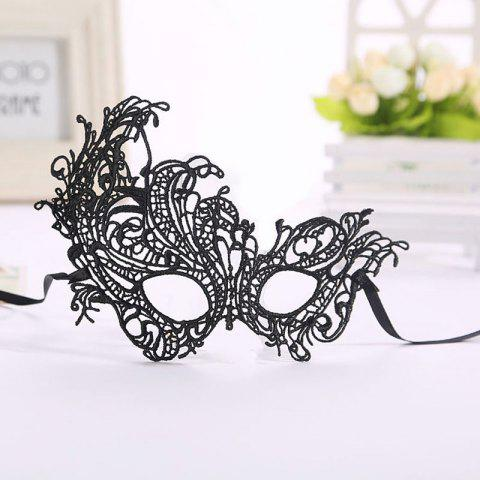 Best Masquerade Lace Catwoman Halloween Black Cutout Phoenix Hollow Veil Prom Party Mask Accessories Lady Sexy Dance Mas