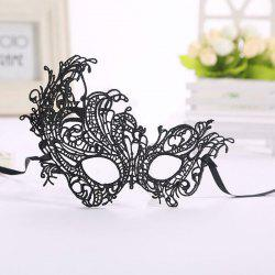 Masquerade Lace Catwoman Halloween Black Cutout Phoenix Hollow Veil Prom Party Mask Accessories Lady Sexy Dance Mas -