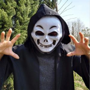 PVC Realistic Scary Horror Mask Halloween Death Ghost Witch Grimace Scream Masks Party Mask Cosplay Costume Prop -
