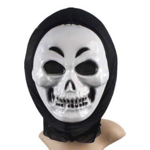 Outfit PVC Realistic Scary Horror Mask Halloween Death Ghost Witch Grimace Scream Masks Party Mask Cosplay Costume Prop