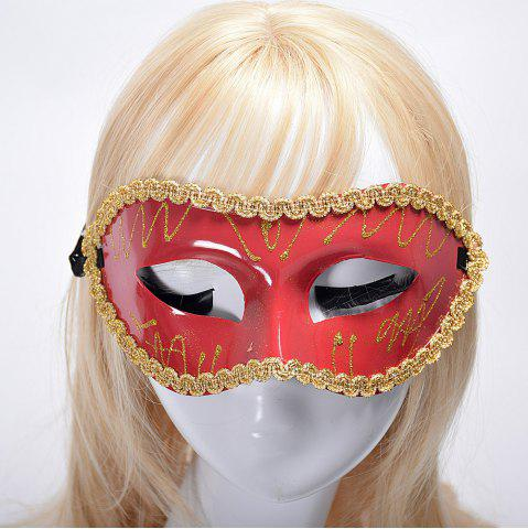 Trendy Halloween Party Masquerade Half Face Flat Picture