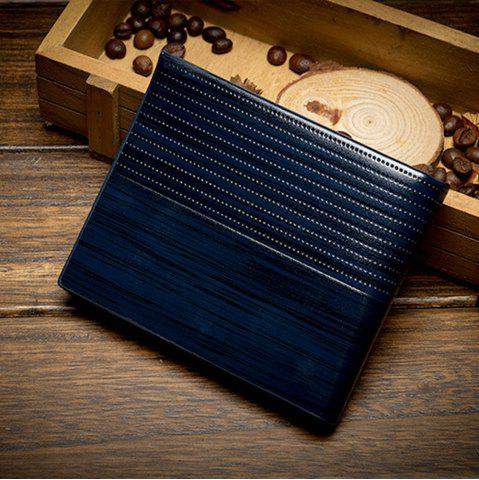 Chic Men'S Short Section Multi-Card Holder Wallet Card