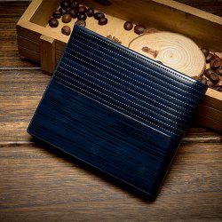 Men'S Short Section Multi-Card Holder Wallet Card -