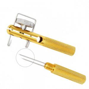 New All-Metal Fish Hook Knotting Tool and Tie Ring Making Solution Accessories -
