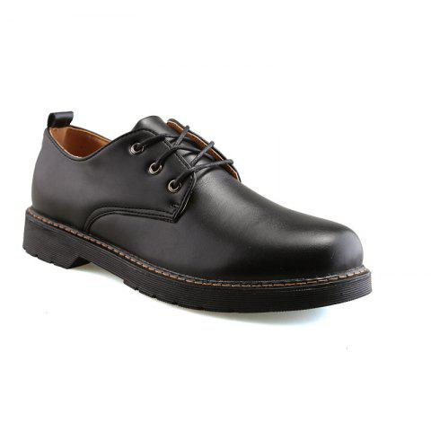 Store Men's Handmade Leather Shoes Retro Style and Business Shoes