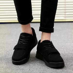 Mens Soled Flat Fashion Souliers simples -
