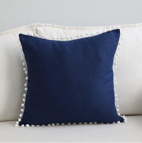 Buy Sofa Cushion Case Solid Brief Style Square Comfortable Decorative Pillowcase