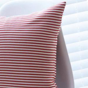 Cushion Cover Simple Striped Decorative Pillowcase Car Office Decorative Pillow Cover -