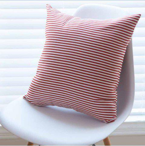 Outfit Cushion Cover Simple Striped Decorative Pillowcase Car Office Decorative Pillow Cover