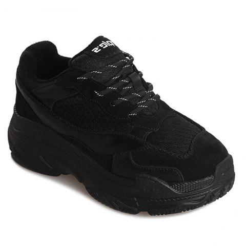 Shops Comfortable Leisure Sports Shoes with Net Cloth Thick Bottom