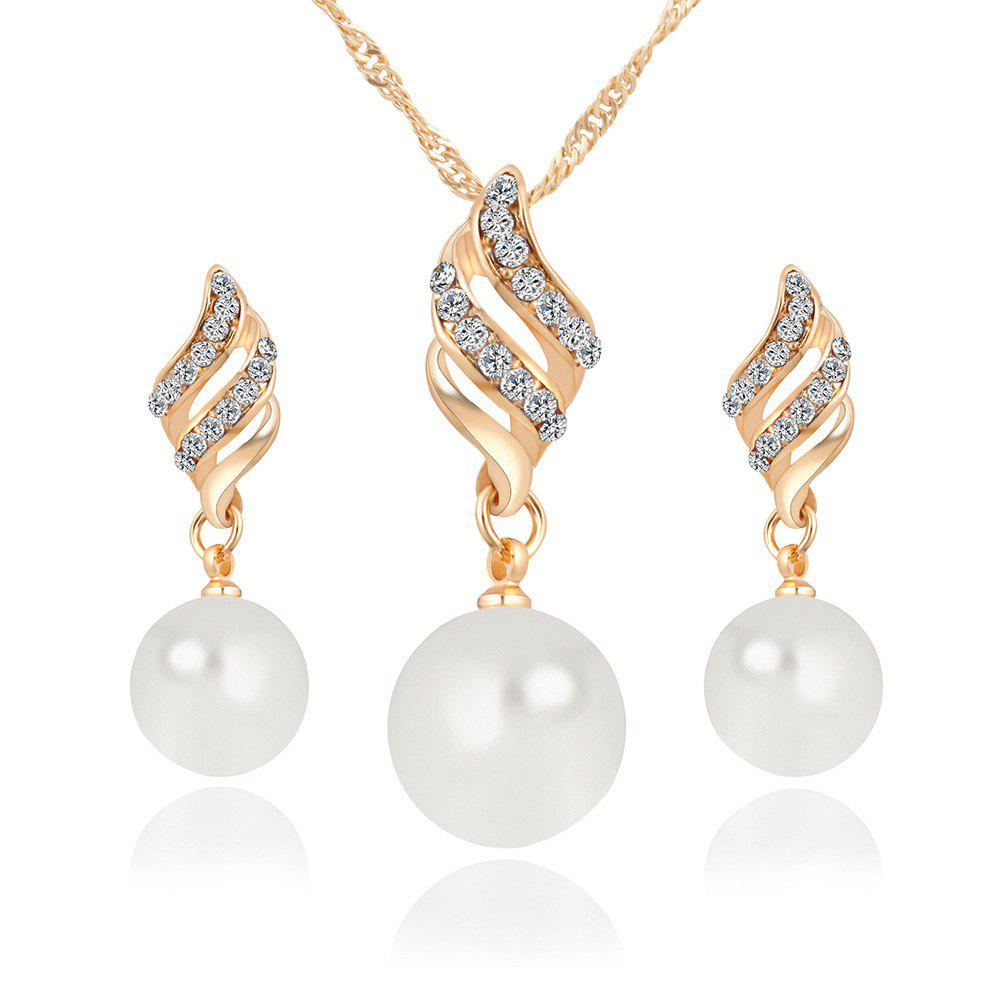 Affordable Simple And Fashion Earrings Necklace Set