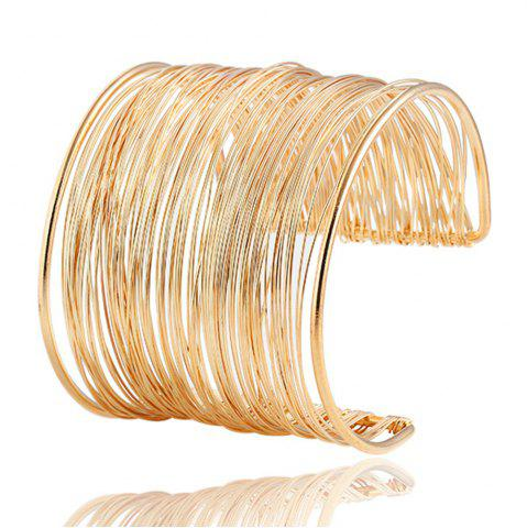 Affordable Fashion New Exaggerated Bangle Bracelet