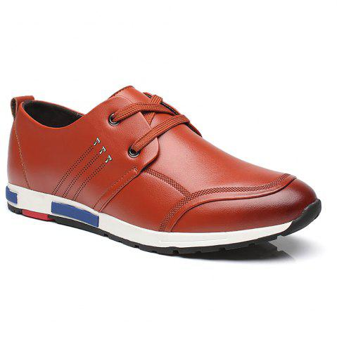 Fashion Sports Leisure Leather Shoes