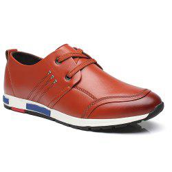 Sports Leisure Leather Shoes -