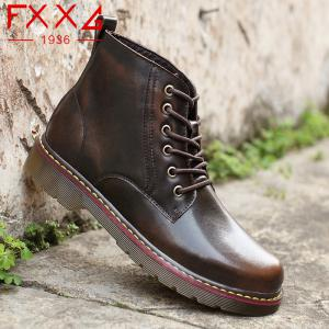 Fashion High Leather Boots -