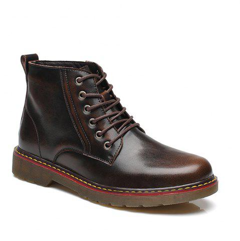 Buy Fashion High Leather Boots