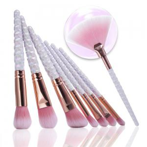 Honeycomb Color Plastic Handle Thread Brush 9PCS -
