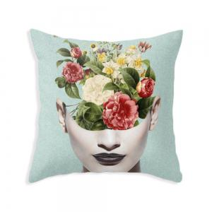 Sexy Women Pillowcase Sofa Cushion Cover Square Double-Sided Printing -