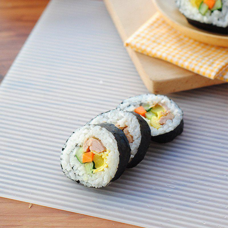 Sale Creative DIY Wave Lines Multi-Purpose Sushi and Oven Rolls Mat
