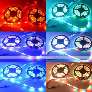 ZDM Waterproof 5M 2835RGB LED Light Strip and IR44 Controller 12V/2A Power Supply AC100-240V -