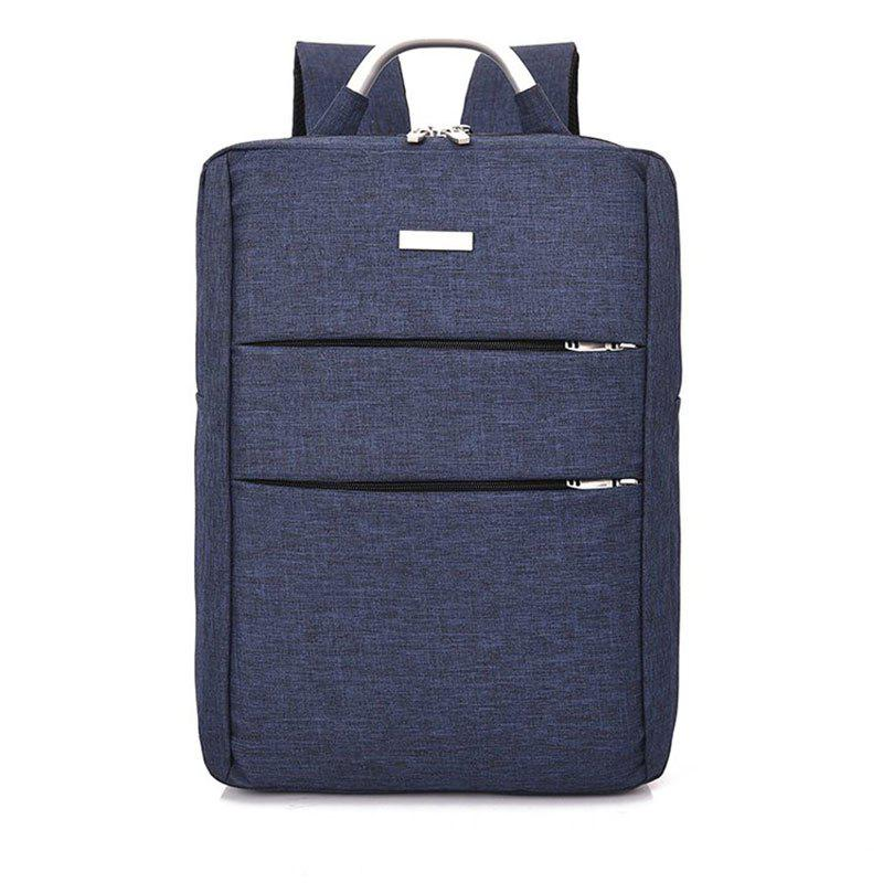 Chic Men's Large Capacity Casual Computer Travel Backpack Multi-pocket Men's Business Bag