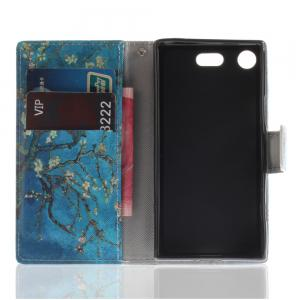 Cover Case for Sony XZ1 Compact Colourful Brackets PU Leather -