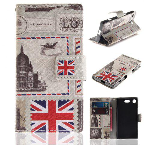 Fashion Cover Case for Sony XZ1 Compact Colourful Brackets PU Leather