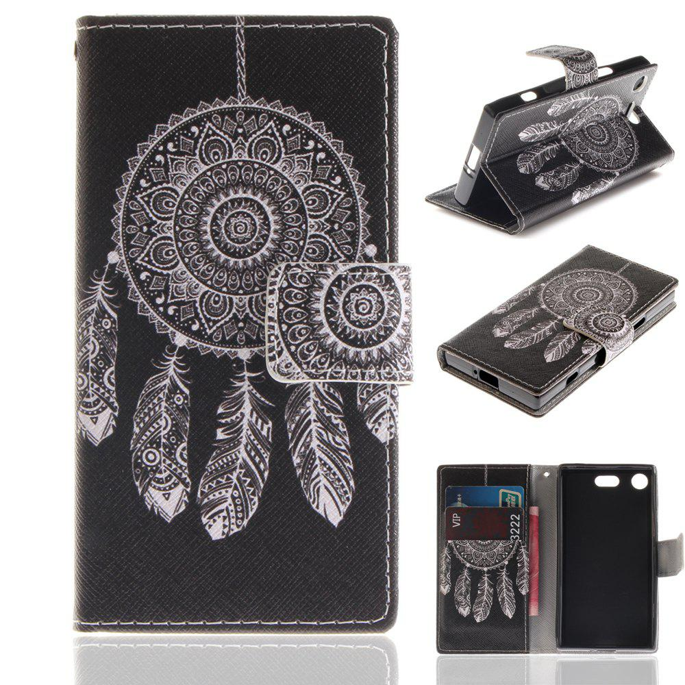 Sale Cover Case for Sony XZ1 Compact Colourful Brackets PU Leather