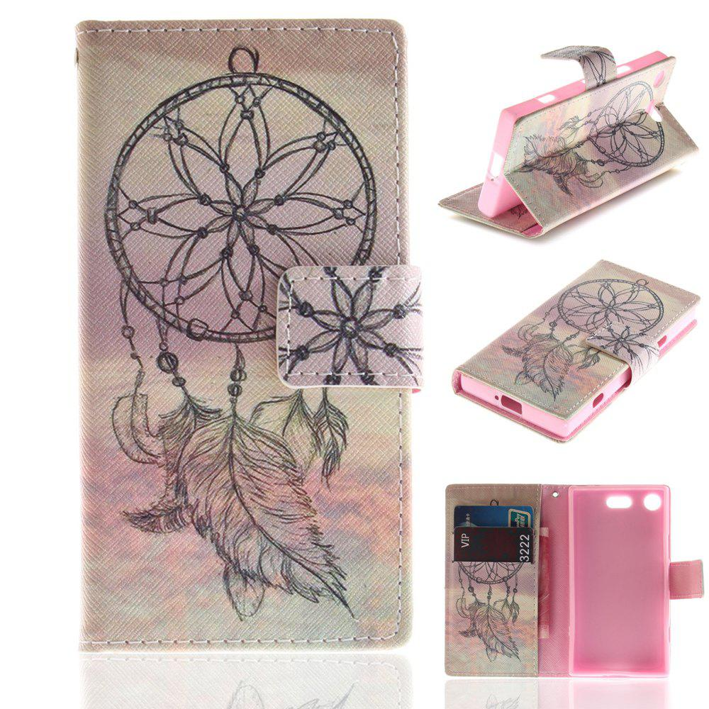 Buy Cover Case for Sony XZ1 Compact Colourful Brackets PU Leather